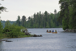 Canoes on Sawbill Lake