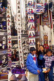 Exhuberant boys at Otavalo Market