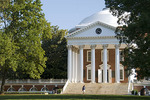 University of Virginia Rotunda and North Lawn, Charlottesville, Virginia