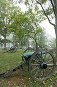 Cannons along Seminary Ridge, Gettysburg National Military Park, Pennsylvania