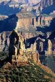 Mount Hayden, Point Imperial, North Rim, Grand Canyon National Park