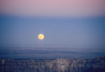 Moonrise at Cape Royal, North Rim, Grand Canyon National Park