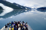 Sightseeing cruise in College Fjords on Prince William Sound, Alaska