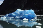 Blue ice in Tracy Arm, Inside Passage, Alaska