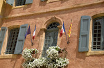 A government building in Roussillon, Provence, France