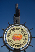 Fisherman's Wharf sign, San Francisco, California