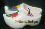 Dutch shoes Souvenir of Holland, Michigan
