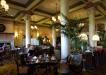 Afternoon tea in the Tea Lobby of the Fairmont Empress, Victoria, Vancouver Island, British Columbia, Canada
