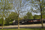 Chicago and Illinois Midland 1928 freight locomotive at the Museum of Transportation, St. Louis, Missouri