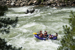 White water rafting on the Payette River, Idaho