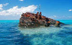 "Shipwreck ""Vixen"" at Sandys Parish Near Daniel's Head, Bermuda"