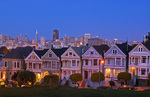 """The Painted Ladies"" of Alamo Square, San Francisco"