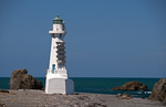 Pencarrow Point Lighthouse, North Island, New Zealand
