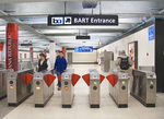 Bay Area Rapid Transit (BART), Powell Street Station, San Francisco, CA