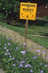 ROADSIDES FOR WILDLIFE NO SPRAYING SIGN