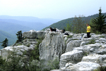 ROCKY POINT/LION'S HEAD OVERLOOK IN THE DOLLY SODS WILDERNESS IN WV