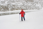 LADY SNOWSHOEING