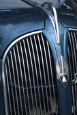 Plymouth 1937 hood ornament, emblem, grill