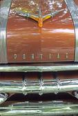 Pontiac Safari 1955 name, hood ornament