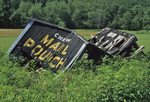 Collapsed Mail Pouch Tobacco barn