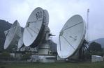 Etam Earth Station satellite dishes