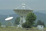 Green Bank National Radio Observatory telescope