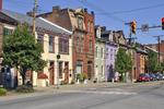 Restored Victorian era houses