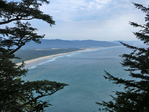View from Cape Lookout Trail at Cape Lookout State Park in Oregon