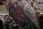 Petroglyphs at Buffalo Eddy Crossing of the Snake River, Nez Perce National Historical Park, WA