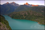 Ross Lake Sunrise, Ross Lake National Recreation Area, North Cascades Mountains, WA
