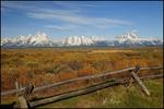 Grand Teton Mountain Range, Grand Teton National Park, WY