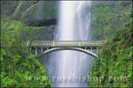Multnomah Falls and bridge