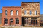 The Dechambeau Hotel and Odd Fellows Lodge on Main Street