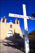 Morning light on San Francisco de Asis Mission Church, Rancho de Taos, New Mexico