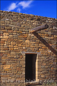 Doorway at the Great Kiva, Aztec Ruins National Monument, New Mexico