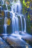 Cascade on Sunbeam Creek, Mount Rainier National Park, Washington