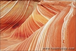 Detail of sandstone formation known as