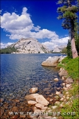Stately Pleasure Dome from the shore of Tenaya Lake, Tuolumne Meadows, Yosemite National Park, California