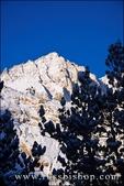 Fresh snow on Mount Abbot after a winter storm, John Muir Wilderness, Sierra Nevada Mountains, California