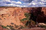Canyon Del Muerto from the canyon rim, Canyon de Chelly National Monument, Arizona