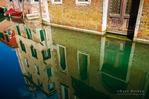 Canal reflections, Venice, Veneto, Italy