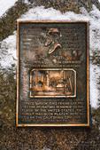 John Muir interpretive sign, Yosemite Valley, Yosemite National Park, California