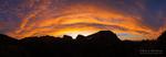Sunrise over the Kolob Canyons, Zion National Park, Utah USA