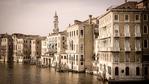 Evening light on the Grand Canal, Venice, Veneto, Italy