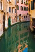 Quiet canal, Venice, Veneto, Italy