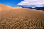 Morning light on dune patterns under the Sangre de Cristo Mountains, Great Sand Dunes National Park, Colorado