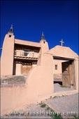 Church of San Jose de Gracia de Las Trampas along the high road to Taos, Las Trampas, New Mexico