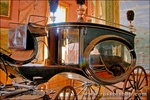 Horse-drawn hearse, Bodie State Historic Park (National Historic Landmark), California