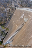 The O'Shaughnessy Dam at Hetch Hetchy, Yosemite National Park, California