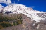 Mount Rainier from Nisqually Vista, Mount Rainier National Park, Washington